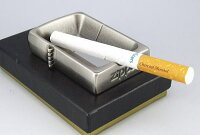 【レアもの】ZIPPO型卓上灰皿銀いぶし仕上げ