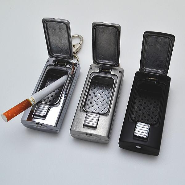 携帯灰皿 アルミダイキャスト アッシュトレイ 携帯 灰皿 ケイタイ灰皿【愛煙家のちょっとしたマナーです。】旧zippo携帯灰皿HA-15Hと同等商品です。元林