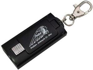 インディアン 携帯灰皿 ブラック IDM-101BK アルミダイキャスト アッシュトレイ 携帯 灰皿 ケイタイ 送料無料 同梱不可