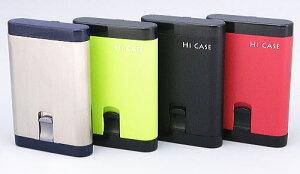 ポケット携帯灰皿 HIケース ハニカム 携帯灰皿 ワンハンドオープン アッシュトレイ サロメ