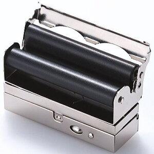 手巻きタバコ用 巻器 メタルローラー トリプル ローリングマシーン 手巻きタバコ シングルペーパー収納可 タバコBOX