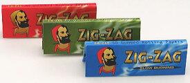 ZIG-ZAG ジグザグ ペーパー 手巻きタバコ用 巻紙 シングルサイズ 手巻きタバコ 69mm 50枚入 zigzag
