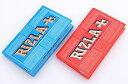 【RIZLA】リズラ・ブルーダブル レッドダブル 手巻きタバコ用 巻紙 ダブルサイズ 69mm 100枚入/手巻きタバコ/手巻きた…