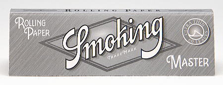Smoking スモーキング 手巻きタバコ用 巻紙60枚入 手巻きタバコ No.8 master Smoking・Silver マスター シングルペーパー 70mm