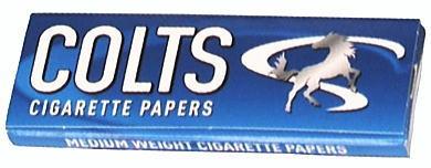 春山商事 COLTS コルツ 手巻きタバコ 巻紙 50枚入 シングルペーパー 68mm50枚 手巻きたばこ