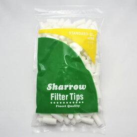 Sharrow 200個入 シャロウ レギュラー ロング フィルター 手巻きタバコ用 200個入 直径8.0mm 長さ20mm jti 手巻きタバコ 日本たばこアイメックス