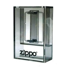 【Zippoロゴ入】アクリルケース ダーククリアケース ジッポーライター専用コレクションケース ディスプレイケース 1個用
