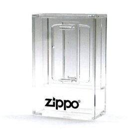 【Zippoロゴ入】アクリルケース クリア ジッポーライター専用コレクションケース ディスプレイケース 1個用