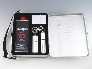 数量限定 ZIPPO アウトドアーキット レギュラージッポー&携帯灰皿 メンテナンスセット ZODK-2【送料無料】