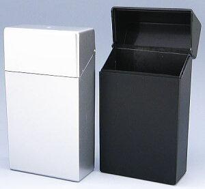ペンギンライター社製 ハードケース プラスチック シガレットケース ハードタイプ 100ミリ用 シルバーと黒の2個セット(各1個)タバコケース