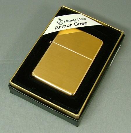 【数量限定】ARMOR ZIPPO High Polish Brass #169 ブラスポリッシュ仕上げ アーマー zippo ライター ジッポ ジッポーライター lighter