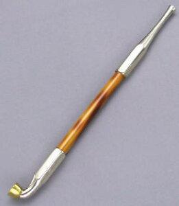 職人技キセル 六角和幸 手造り煙管 煙管 きせる 洋白 20cm