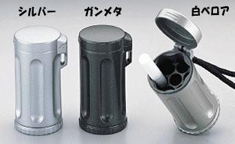 ウインドミル社製 瞬間消火 携帯灰皿 ハニカム ジュニア 100cm ひも付 ワンハンドオープン アッシュトレイ ストラップ