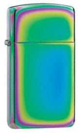 【数量限定】虹色に輝く スペクトラム スリム ZIPPO Slim Spectrum #20493 PVD加工 【激安】