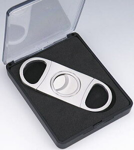 柘 葉巻用 カッター シガーカッター ステンレス オーバル (22mm) 80350