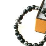 ブラックデザインドラゴンブレスレット竜龍水晶メンズアクセサリー数珠ブレスレット天然石パワーストーン