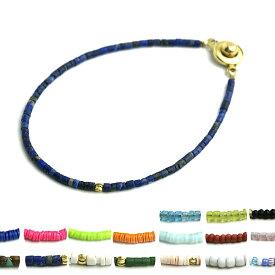 ブレスレット メンズ micro stone design bracelet マイクロストーンデザイン ブレスレット ブレスレット メンズ 天然石 マイクロブレスレット ペア ターコイズ ラピスラズリ レッド グリーン