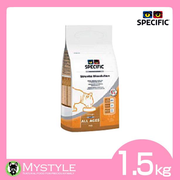 スペシフィック 療法食(猫用) FSD [低pHスターター] 猫用 ドライタイプ 1.5kg 療法食 療養食 栄養管理 天然素材