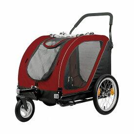 Air Buggy for Dog エアバギーフォードッグ ネスト【大・中型犬45kgまで対応】タンゴレッド【送料無料】(エアバギー 犬 ペット用カート 犬用カート ペットキャリー)