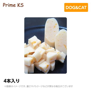 プライムケイズ 無薬鶏ささみチーズ 4本入りおやつ 犬猫 国産 無添加(ご褒美 犬用品 猫用品)