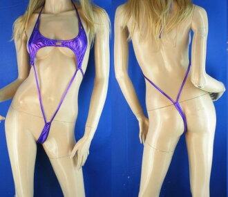 마이크로 비키니 보라색 여자 할로윈 의상 코스 프레 코스 프레 의상 성인 옷 망 년 회 신년 회
