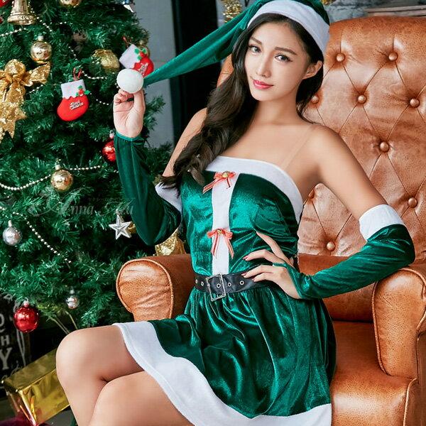 【送料無料】グリーンサンタ サンタコス セクシー サンタ コスプレ 大人 クリスマス コスチューム レディース 過激 可愛いコスプレ サンタクロース クリスマスコスチューム パーティ ミニスカサンタ 余興
