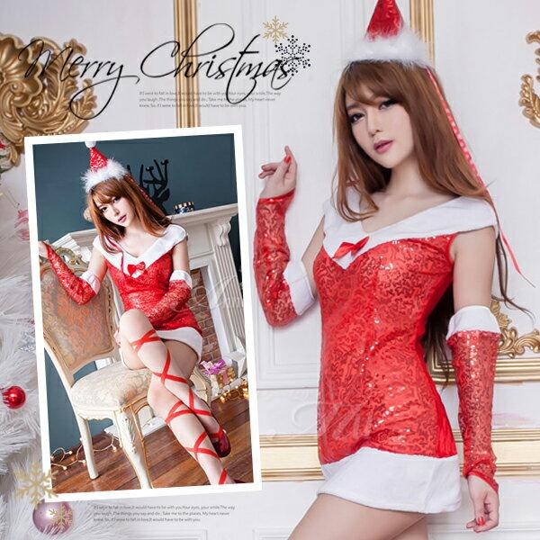 セクシー サンタ コスプレ クリスマス コスチューム サンタクロース 衣装 ミニスカサンタ