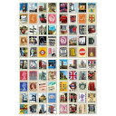 送料全国一律190円切手風シール ロンドン アンティーク デザインシール80枚入り