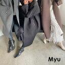 \限定2000円OFFクーポン/【ポケットパール付きボンディングコート(myu724)】<ご予約受付中♪(1次12/18頃)順次出荷…