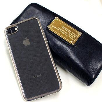 iPhoneXケースiphone8ケースiPhoneXiphone7ケースかわいいメッキ【送料無料】クリアケースiPhoneseiPhone6PlusiPhone7ipHone7アイフォン7アイホンXGalaxys8s8pluss9s9plus
