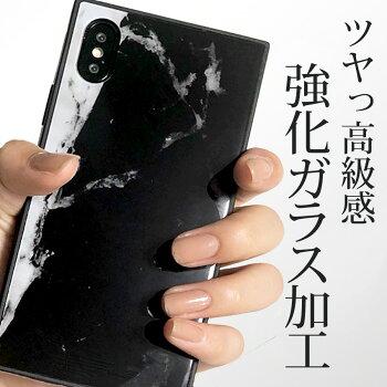 iPhone8iPhoneXケース鏡面スマホケーススクエアミラーケースハードケースiPhone7