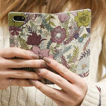 【送料無料】iPhone7【Palmtree手帳ケース4種】おしゃれシックマグネット式アイフォン7iPhone6sアイフォン6siPhone6アイフォン6スマホケース花柄