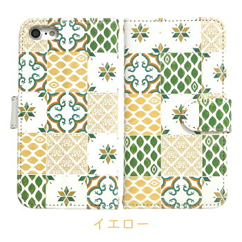 【送料無料】iPhone8【トルコタイル柄手帳ケース5種】おしゃれクール厚手アイフォン7iPhone6sアイフォン6siPhone6アイフォン6スマホケースタイル手帳型