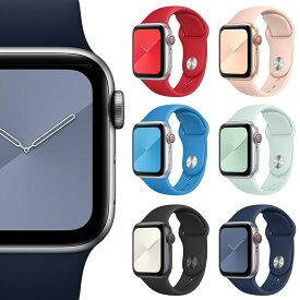 Apple Watch 6 バンド アップルウォッチ SE ベルト Series 3 スマートウォッチ レディース 大人 かわいい アップルウォッチ おしゃれ ベルト band gps モデル 全シリーズ 対応 プレゼント メンズ 選べる 手に馴染む シリコン カラー/ 送料無料 ポイント消化