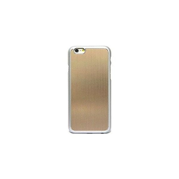 Apple iPhone6 4.7 inch METAL JACKET メタルジャケット スマホケース アイフォン 6 4.7インチ 対応 カバーケース 薄型軽量 21g ワンタッチ装着 PCハード素材 MY WAY 出品カラー全5色 簡易防水パッケージ iPhone6 4.7inch Champagne gold シャンパンゴールド