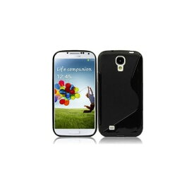 GALAXY S4 ギャラクシー デザイン カバー ケース スマホケース docomo GALAXY S4 SC-04E Samsung Galaxy S IV 2013年モデル 対応 TPU 半透明クリアモデル S Black 黒 ブラック【送料無料】ポイント消化