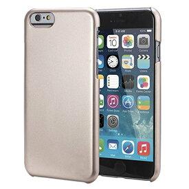iPhone6 Plus ケース 5.5 Metallic Air Design メタリック エアー ケース 薄型 軽量 デザイン 16g スマホケース アイフォン iPhone 6S 5.5 インチ 対応 PC ハード Champagne Gold 金【送料無料】ポイント消化