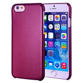 iPhone6 Plus iPhone6S プラス ケース 5.5inch スマホケース Metallic Air Design メタリック エアー 薄型 軽量 デザイン アイフォン iPhone 6 5.5 PC ハード 素材 Dark Wine Red 赤【送料無料】ポイント消化