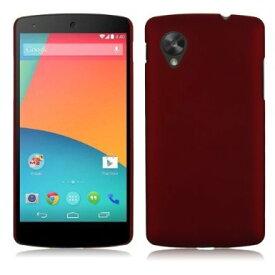 Google Nexus5 ケース スリム フィット PC カラー スマホケース ネクサス5 EM01L LG-D821 16GB 32GB 対応 軽量 ハード 素材 カバー Slim Design Cover Case 薄型 Red 赤【送料無料】ポイント消化
