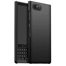BlackBerry KEY2 ケース key 2 4.5インチ 薄型 軽量 スリム フィット SIMフリー スマートフォン ハード ブラック【送料無料】ポイント消化