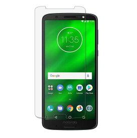 Moto G6 Plus フィルム ガラス 画面 保護 液晶 モトローラ SIM フリー スマートフォン 滑らか 2.5D 感度良好 硬度 9H クリア【送料無料】ポイント消化
