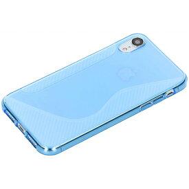 iPhoneXR ケース TPU カバー アイフォン XR 6.1 薄型 軽量 スマホケース 青【送料無料】ポイント消化