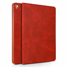 iPad Air アイパッド ケース iPad 9.7 iPad Air2 対応 タブレット スマート カバー 薄型 軽量 赤【送料無料】ポイント消化