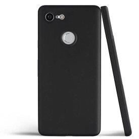 Google Pixel 3 ケース docomo Softbank SIMフリー スマートフォン PC ハード 薄型 軽量 専用 スマホケース 艶消し マット シンプル ブラック【送料無料】ポイント消化