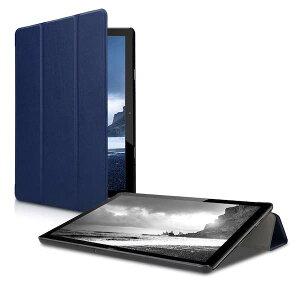 Huawei T5 10 ケース タブレット 薄型 軽量 スタンド オートスリープ カバー レザー PC ハード 紺【送料無料】ポイント消化