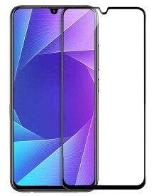 OPPO AX7 SIMフリー ガラス フィルム 6.2インチ 楽天モバイル スマホ 3D 全面 吸着 気泡ゼロ ガラスフィルム SIMフリー 液晶 画面 指紋 割れ 防止 衝撃 吸収 滑らか タッチ 感度 良好 耐衝撃 9H 強化 GLASS FILM 黒 Black【送料無料】ポイント消化