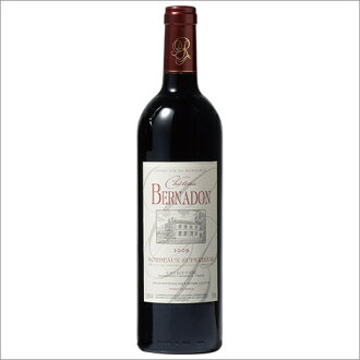 Chateau Bernadine ' 09 [red wines], [wine] [Red: full-body] [05P12Oct15]