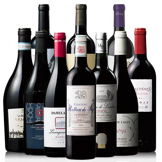 【送料無料】すべて90点以上の高評価ワイン!ソムリエ・スタッフセレクトベスト10本セット [赤ワイン] [ワインセット] 【7784269】