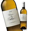 シャルム・ド・フォンバデ'16(ACボルドー 白 辛口) [白ワイン]  【7784358】