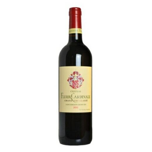 【最安値挑戦】シャトー・フルール・カルディナル'13(ACサンテミリオン・グラン・クリュ)[赤ワイン] 【7776817】